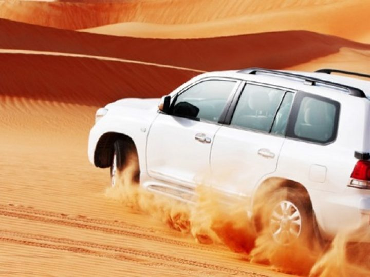 Desert Safari: Experience This Tour Using A Four-Wheeled Drive Vehicle