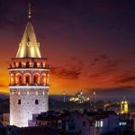 Galata Tower Lighting