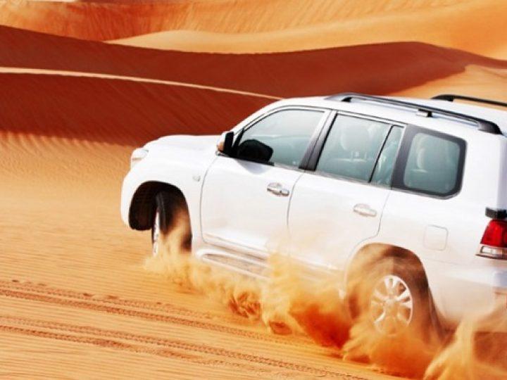Desert Safari: Experience This Tour Using A Four-Wheeled Drive Vehicle